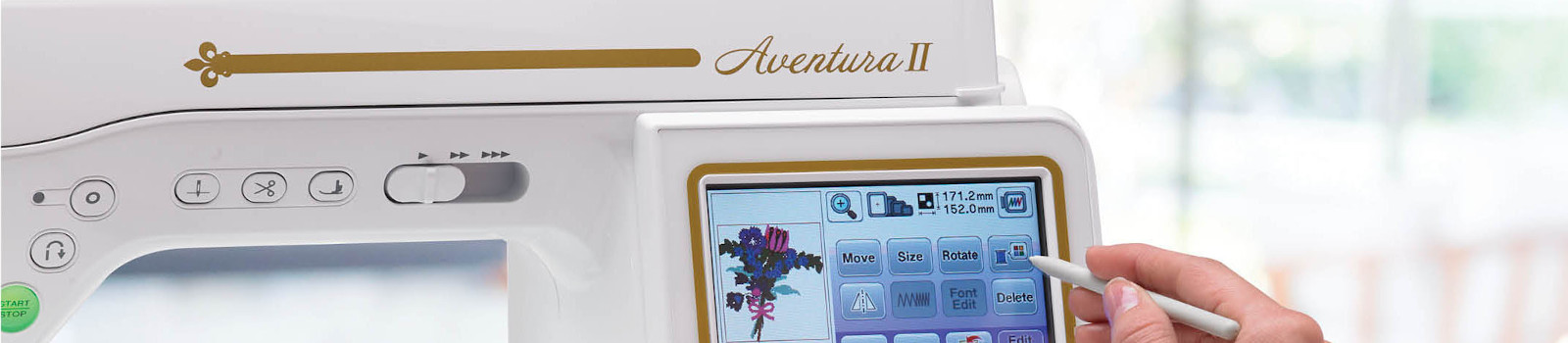 Baby Lock Aventura II Sewing and Embroidery Machine