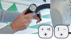 Baby Lock Regalia Time Saving Push Button Features