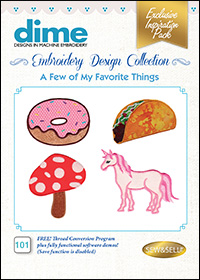 DIME Inspiration Designs - A Few of My Favorite Things