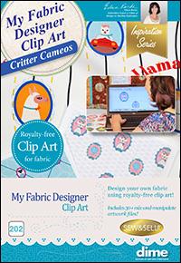 DIME Inspiration Clip Art - Critter Cameos