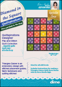 Diamond in the Square Quiltspirations