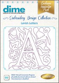 DIME Inspiration Designs - Lavish Letters