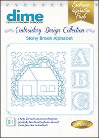 DIME Inspiration Designs - Stony Brook Alphabet