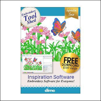 DIME Inspiration Software - Embroidery Tool Shed