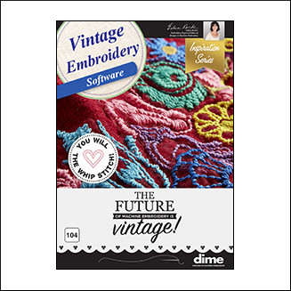DIME Inspiration Software - Vintage Embroidery