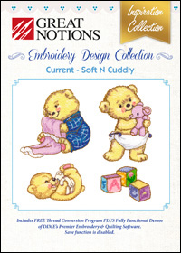 Great Notions Embroidery Designs - Current – Soft N Cuddly
