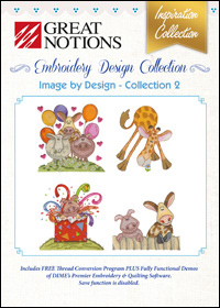 Great Notions Embroidery Designs - Image by Design – Collection 2