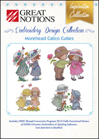 Great Notions Embroidery Designs - Morehead Calico Cuties