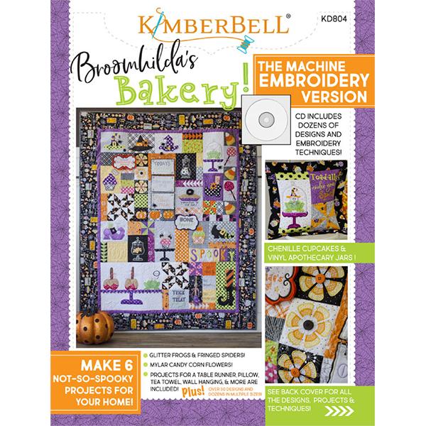 KIMBERBELL DESIGNS - BROOMHILDA'S BAKERY, MACHINE EMBROIDERY
