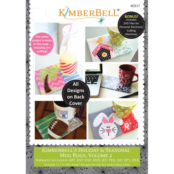 Kimberbell Designs - Mug Rugs, Holiday & Seasonal, Volume 2