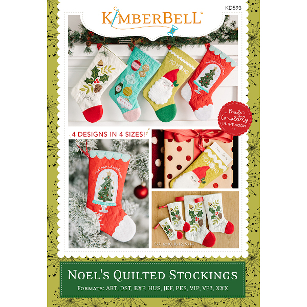 Kimberbell Designs - Noel's Quilted Stockings