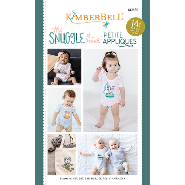 Kimberbell Designs - The Snuggle is Real, Petit Appliques