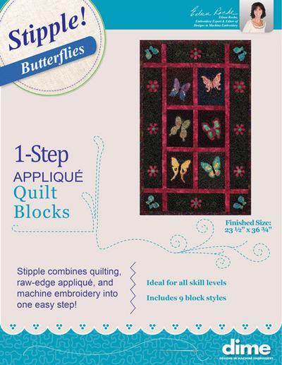 DIME Stipple! Butterflies
