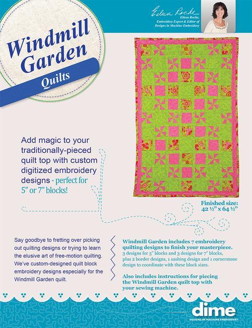 DIME Windmill Garden Quilts