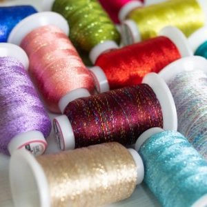 Wonderfil GlaMore™ - 12wt Rayon and Metallic Thread