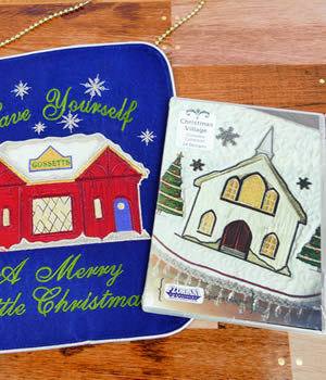 Floriani Christmas Village Designs