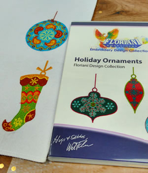 Floriani Holiday Ornaments Designs