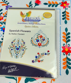 Floriani Spanish Flowers Designs