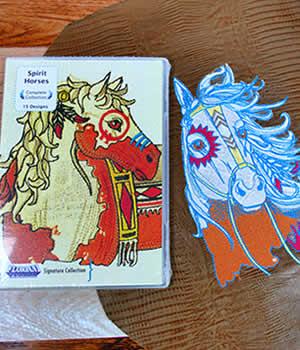 Floriani Spirit Horses Designs