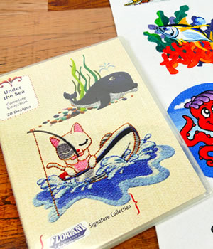 Floriani Under the Sea Designs