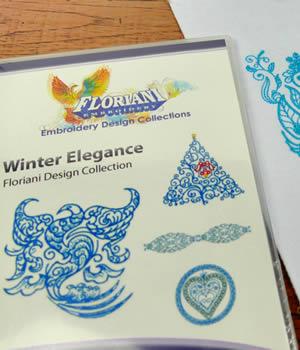 Floral Winter Elegance Designs