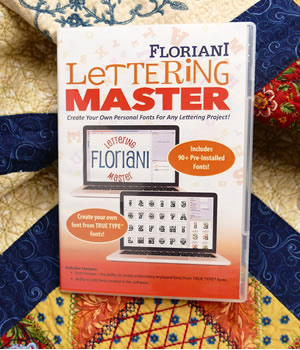 Floriani Software - Lettering Master