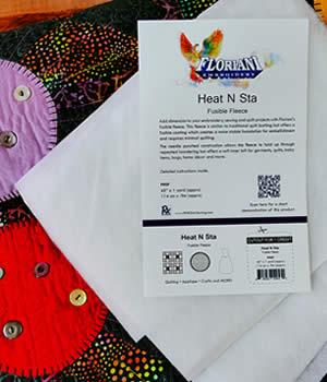 Floriani Heat N Sta Fusible Fleece Stabilizer