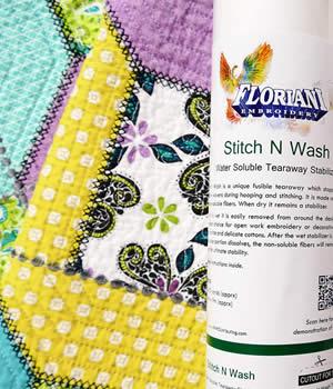 Floriani Stitch N Wash Stabilizer