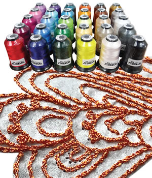 Floriani Thread - 12wt Polyester Thread