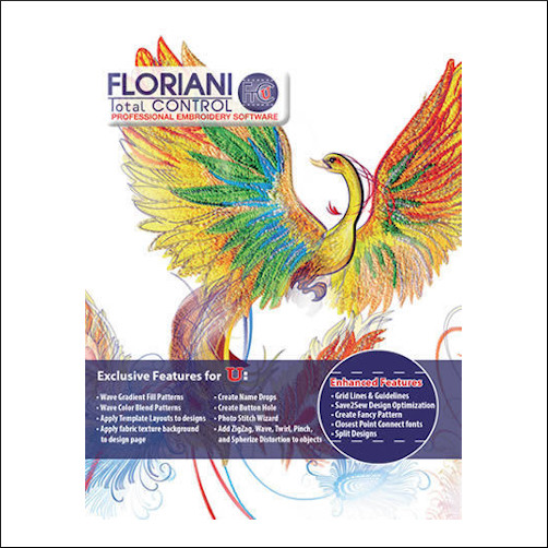 Floriani Sewing, Quilting and Machine Embroidery Software