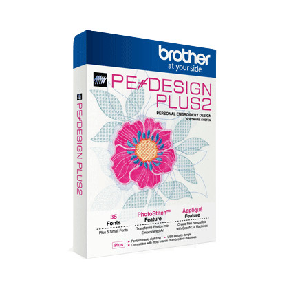 Brother PE-Design Plus2 Embroidery Software