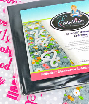 Embellish Embroidery Foam