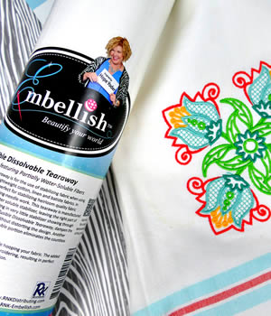Embellish Tearaway Fusible Stabilizer