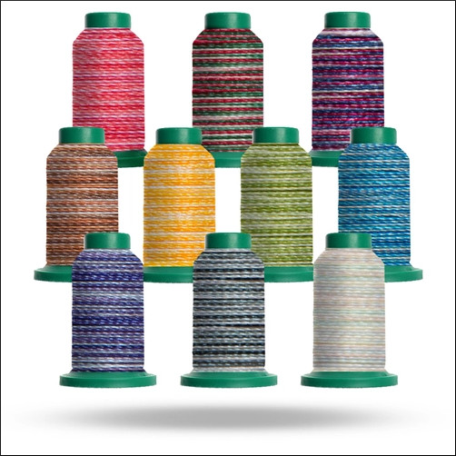 Isacord Variegated Machine Embroidery Thread