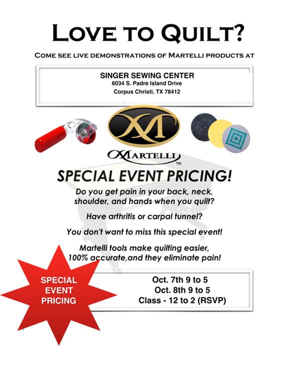 Martelli Quilting Event