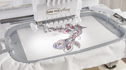 7-7/8′′ x 11-3/4′′ Embroidery Field